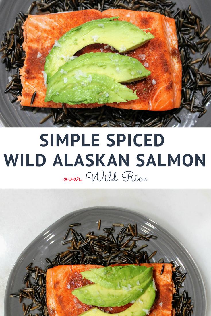 simple spiced salmon