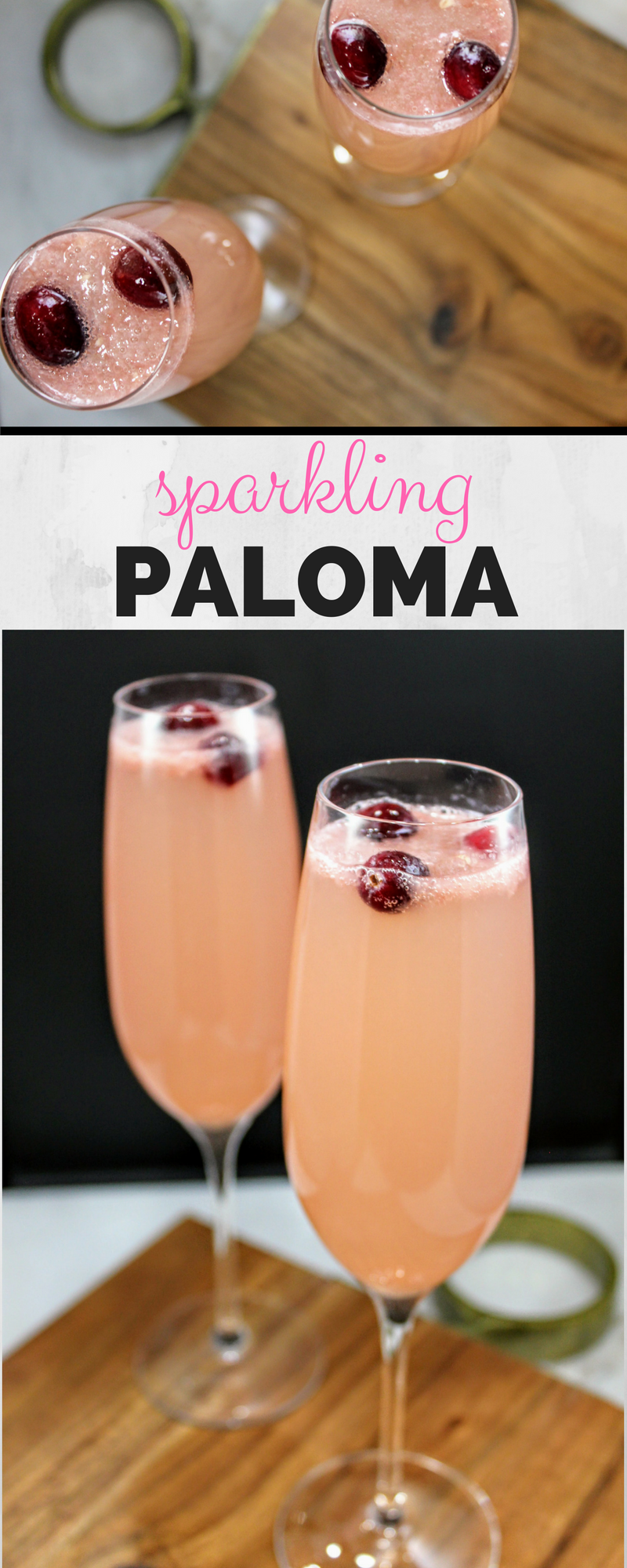 Sparkling Paloma — Pearls and Sneakers