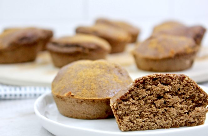 chocolate coffee protein muffins