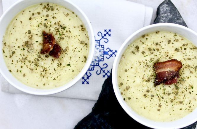 Creamy Paleo Potato Soup