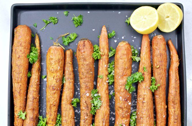 Turmeric Roasted Carrots