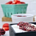 mixed berry & cheery chia jam