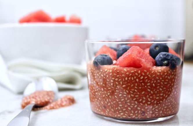 Creamy Chia Seed pudding