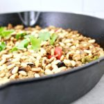 Ground Turkey Taco Meat with Toasted Pine Nuts